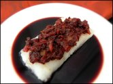 Roasted Cod with Red Wine Tomato Jam