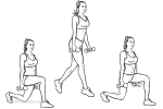 Alternating Split Squat Jumps
