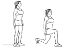 Bodyweight Lunge