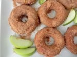Baked Apple Pie Donuts