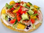 Cajun Salmon Tostadas with Mango Avocado Salsa