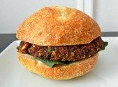 Lentil Mushroom Steakburgers