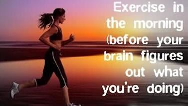 exerciseinthemorning