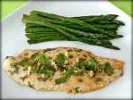 Cilantro Lime Marinated Tilapia