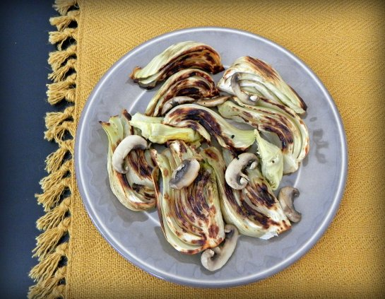 Roasted Fennel with Artichokes and Mushrooms