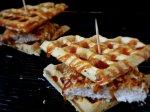 Chicken N' Waffle Sandwiches