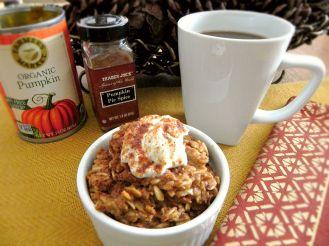 Pumpkin Spice Latte Oatmeal