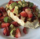 Strawberry Lime Avocado Grilled Chicken