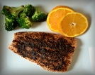 BBQ Balsamic Glazed Salmon