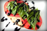 Caprese Baked Chicken with Balsamic Reduction