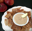 Caramel Apple Dip with Cinnamon-Sugar Chips