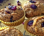 Cranberry Orange Pumpkin Muffins