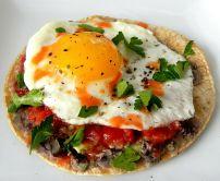 Southwestern Egg Tostada