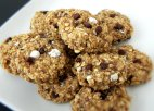 Oatmeal Flax S'mores Cookies