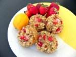 Strawberry Lemonade Poppyseed Muffins