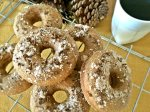 Pumpkin Spice Coffee Donuts
