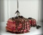 Red Velvet (Dye-free, Dairy-free) Pancakes