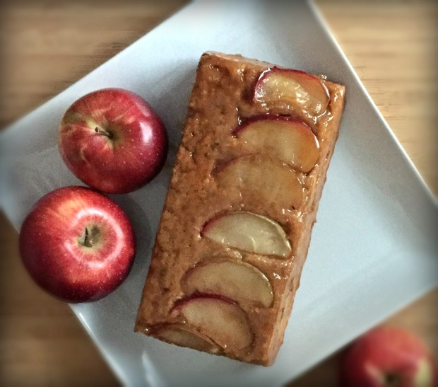 apple upside down oatmeal bread 4jpg