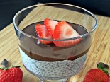 Chocolate Strawberry Chia Seed Parfait