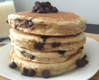 Oatmeal Chocolate Chip Cookie Pancakes