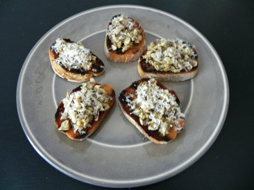 roasted eggplant crostini edited