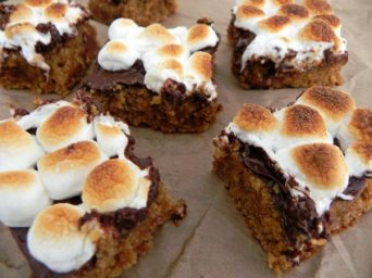 s'mores blondies