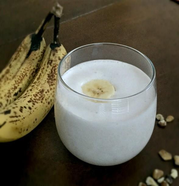 Vegan Banana Nut Bread Protein Smoothie 1
