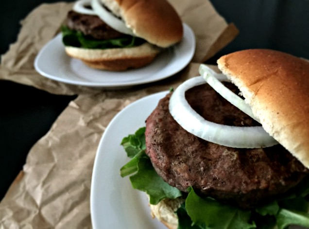 classic beef burgers