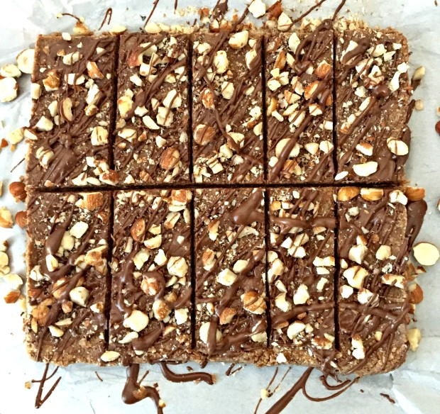 choc hazelnut protein bars