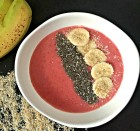 Strawberry Banana Vanilla Smoothie Bowl