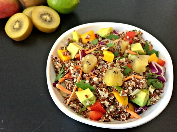 Tropical Kiwi Quinoa Salad