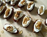 Honey Vanilla Bean Stuffed Dates