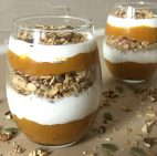 Pumpkin Pecan Crunch Parfaits