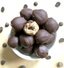 Cookie Dough Truffles (gluten-free, vegan)